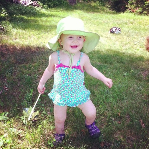 Cass Lake, MN is a lake country nirvana for little Emma, as it was for her mother and uncle before her.