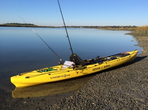The Ocean Kayak Trident 13 may have looked rigged and ready, but self-induced fouled lines cost me an hour of fishing. I was pissed.